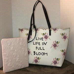 Betsey Johnson Full Bloom Tote